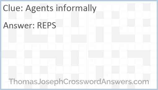 Agents informally Answer