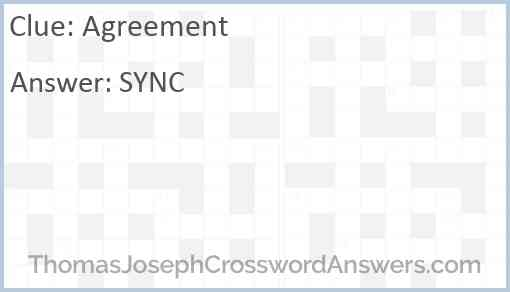 Agreement Answer