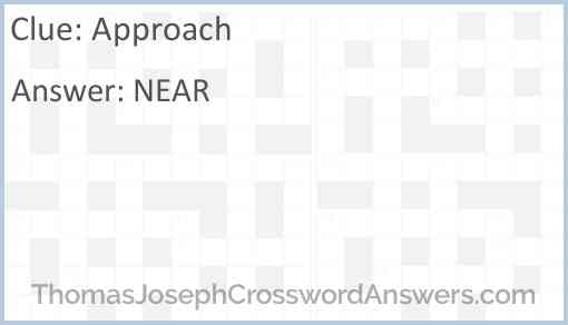 Approach Answer