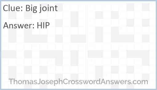 Big joint Answer