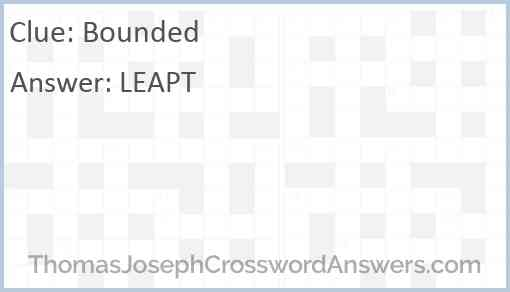 Bounded Answer
