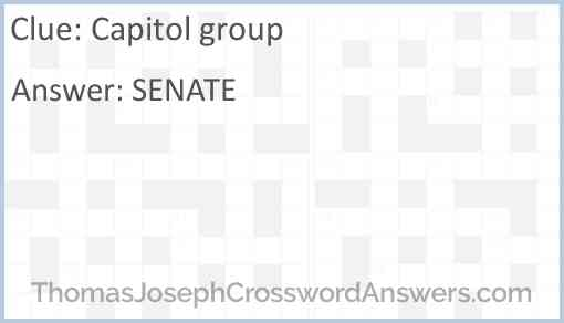 Capitol group Answer