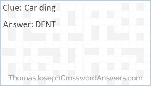 Car ding Answer