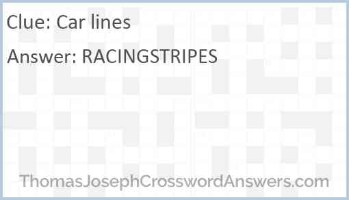 Car lines Answer