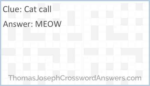 Cat call Answer