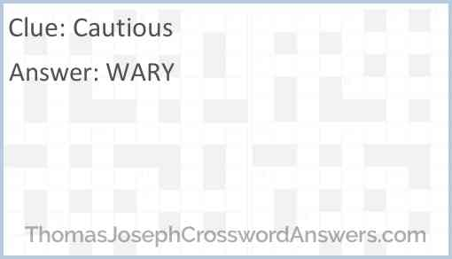 Cautious Answer