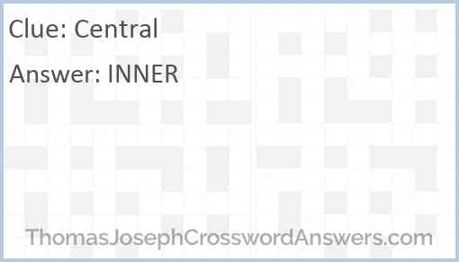 Central Answer