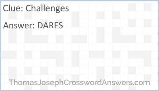 Challenges Answer