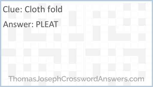 Cloth fold Answer