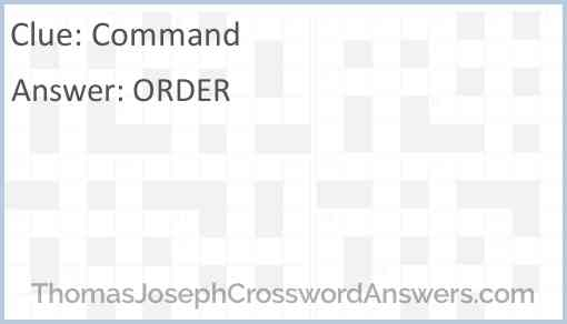 Command Answer