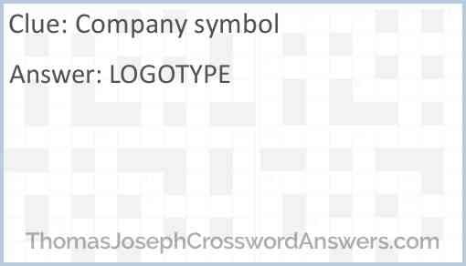 Company symbol Answer