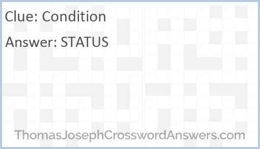 Condition Answer