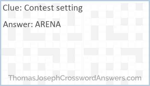 Contest setting Answer