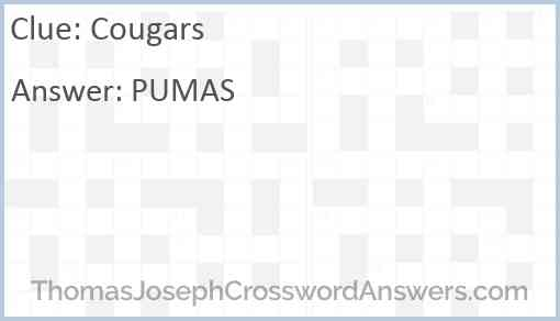 Cougars Answer