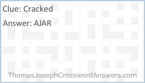 Cracked Answer