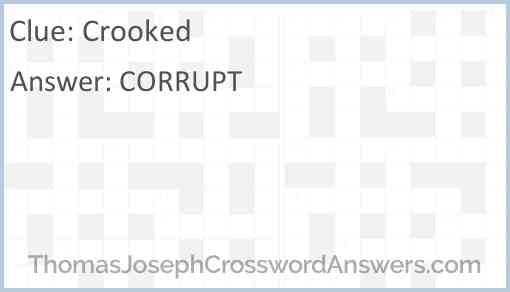 Crooked Answer