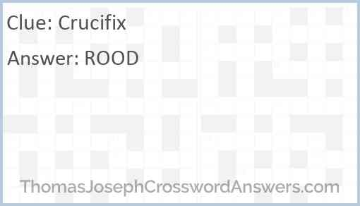 Crucifix Answer