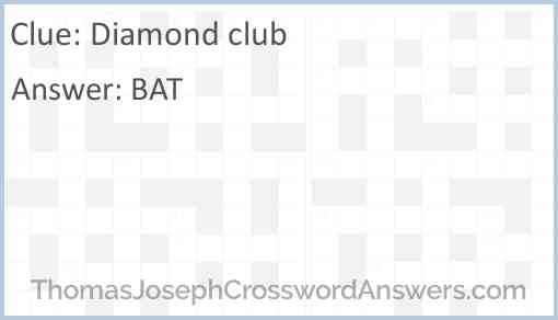 Diamond club Answer
