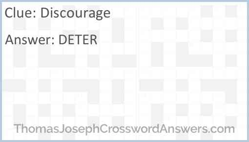 Discourage Answer