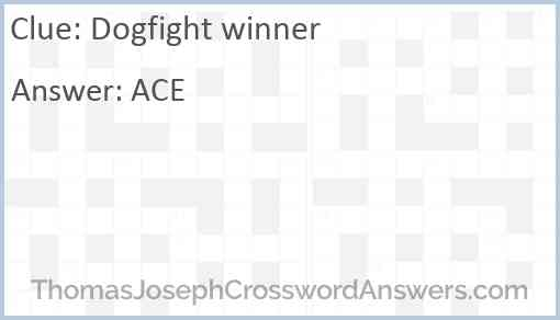 Dogfight winner Answer