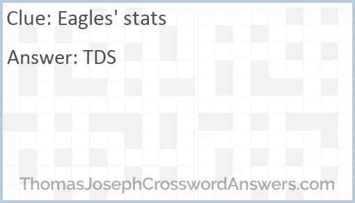 Eagles' stats Answer