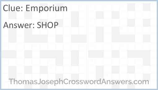 Emporium Answer