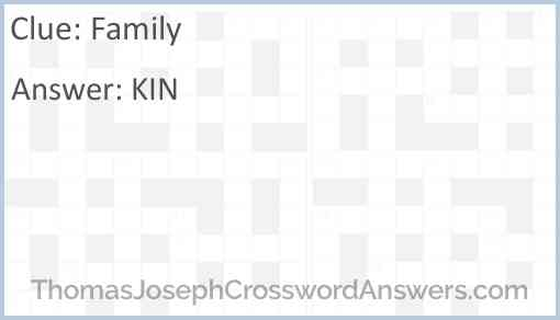 Family Answer