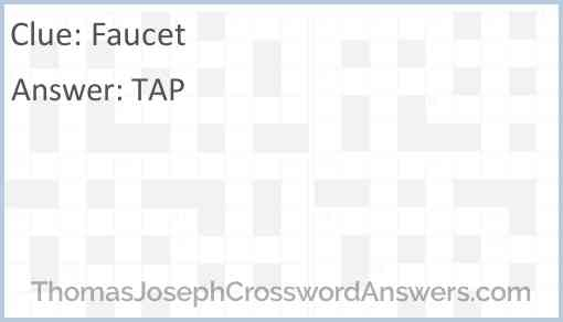 Faucet Answer