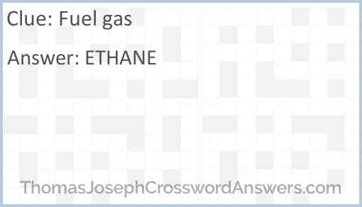 Fuel gas Answer