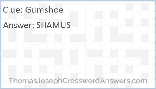 Gumshoe Answer