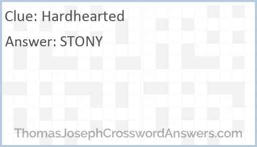 Hardhearted Answer
