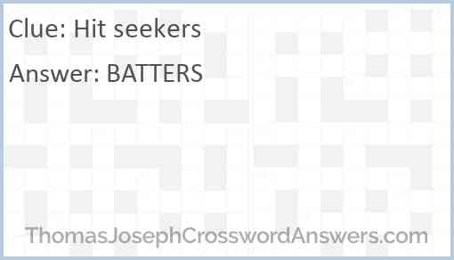 Hit seekers Answer