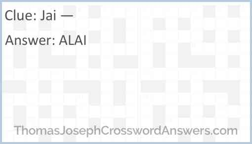 Jai — Answer