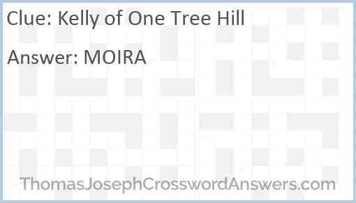 Kelly of One Tree Hill Answer