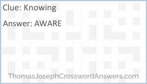 Knowing Answer