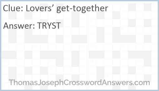 Lovers' get-together Answer