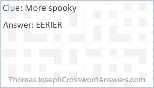 More spooky Answer