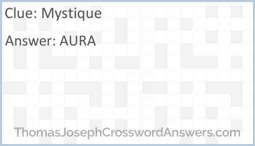 Mystique Answer