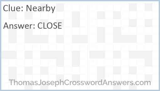 Nearby Answer