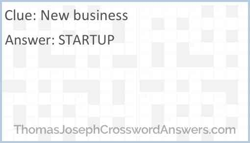 New business Answer