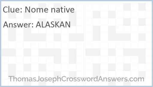 Nome native Answer