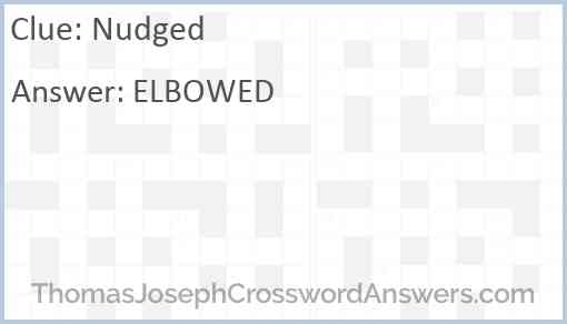 Nudged Answer