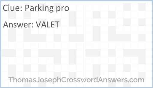Parking pro Answer