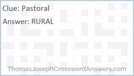 Pastoral Answer
