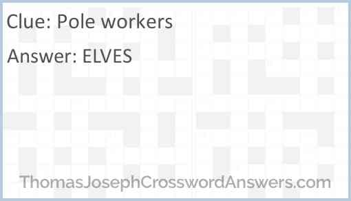 Pole workers Answer