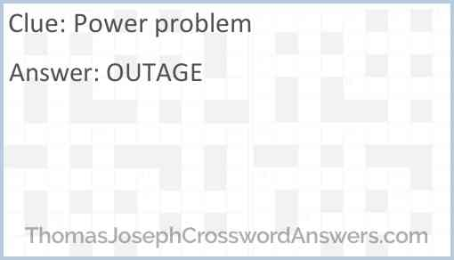 Power problem Answer