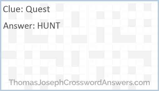 Quest Answer