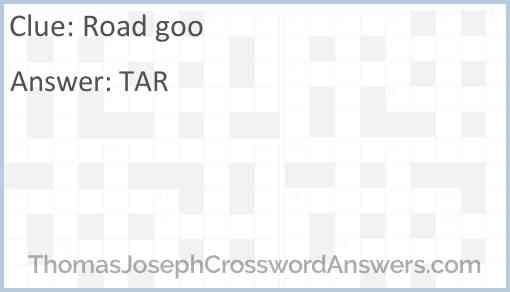 Road goo Answer