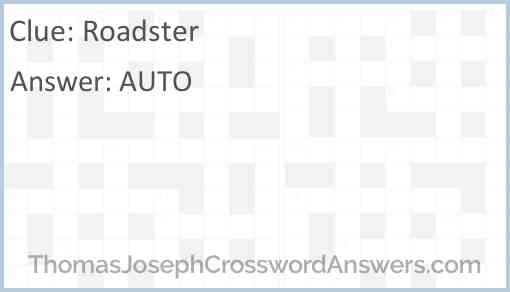 Roadster Answer