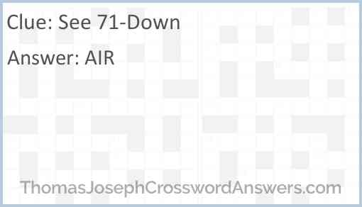 See 71-Down Answer